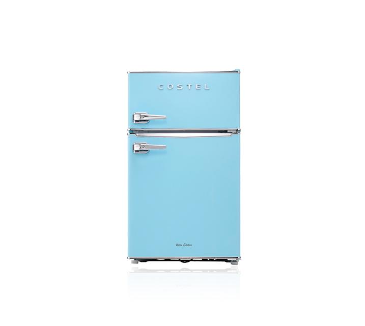 [L] 코스텔 냉장고 86L 스카이블루 CRS-86GABU  / 월18,900원