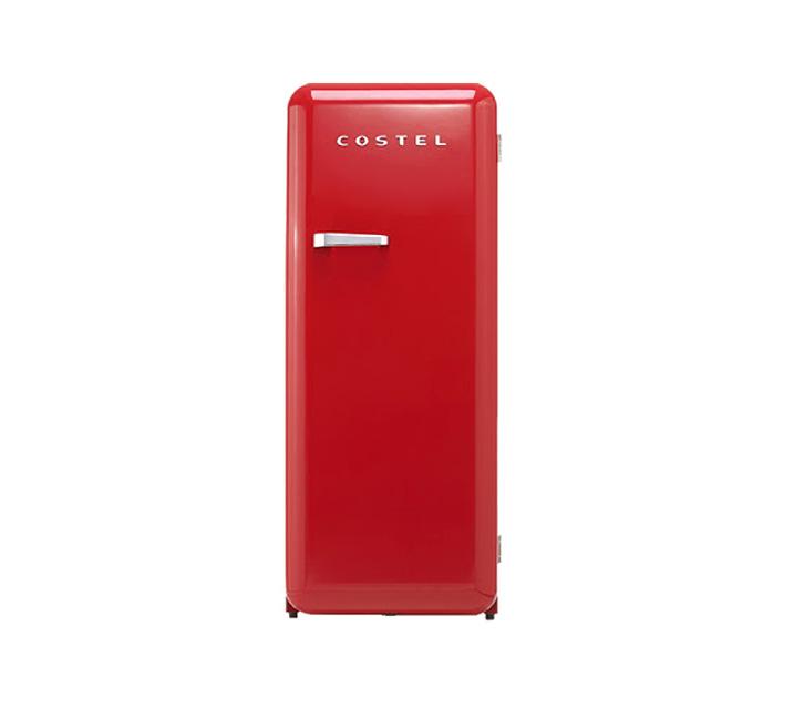 [L] 코스텔 냉장고 281L 레드 CRS-281HARD / 월 29,900원