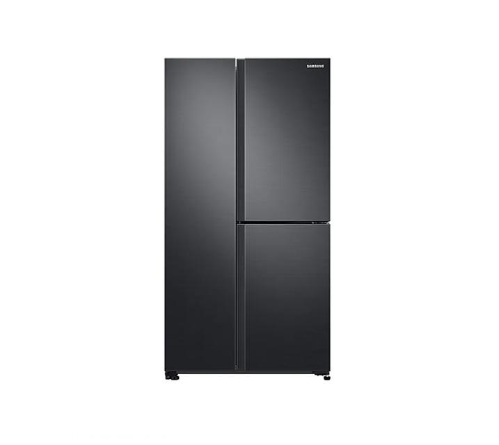 [L] 삼성 냉장고 세미 빌트인 양문형 냉장고 인버터 635L 리얼메탈 RS63R557EB4 / 월 38,500원