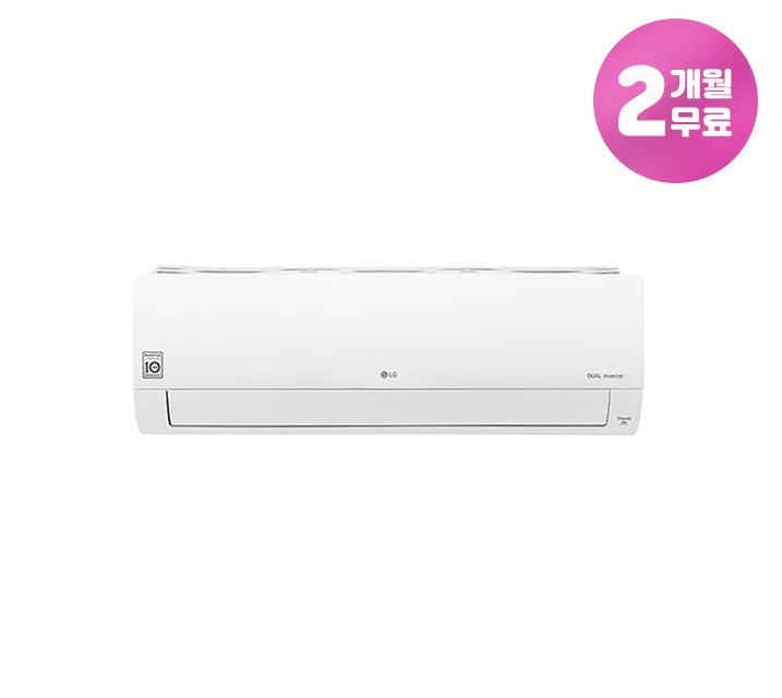 [L]  LG 휘센 냉난방 벽걸이 에어컨 7평형 SQ07B8PWDS / 월15,900원