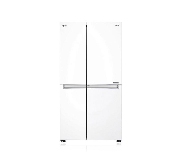 [L] LG 양문형 2도어 냉장고 821L 화이트 S833W32 / 월 35,900원