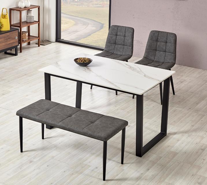 이벨린 세라믹 4인 식탁세트 + 의자포함 (의자형/의자4ea)/ 월 49,800원