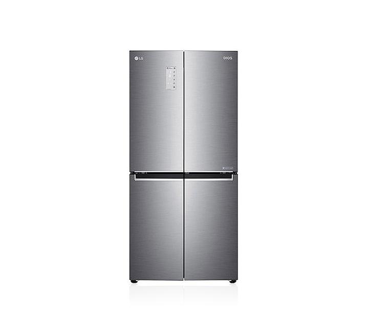 [L] LG 디오스 세미빌트인 4도어 냉장고 실버 530L F531S35 / 월 48,500원