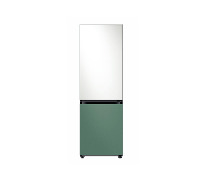 [L] 삼성 비스포크 2도어 냉장고 글램화이트 코타그리너리 333L RB33T3662APWF   / 월 30,900원