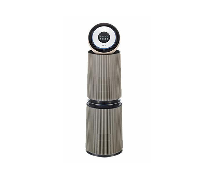 [L] LG 퓨리케어 360 공기청정기 알파 35평형 밀크티라떼 AS351NBFA  / 월 51,400원